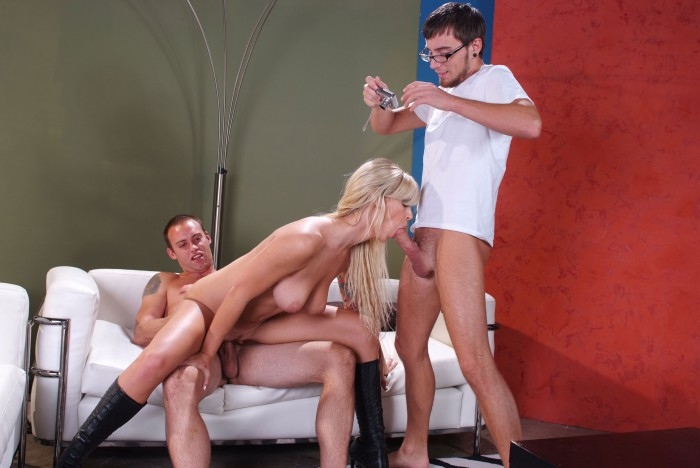 Brooke Banner Threesome